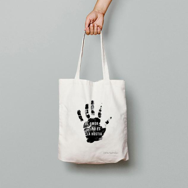 El amor no es la hostia - Tote Bag