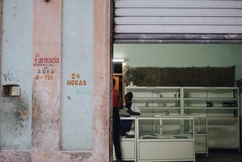 Farmacia. La Habana. Cuba.
