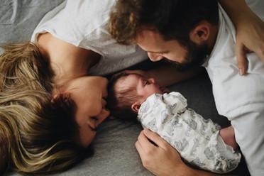 Book. Bebé y familia.