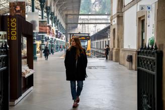 Tren. Oporto.