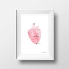 El amor en cualquier sitio - Lámina A4