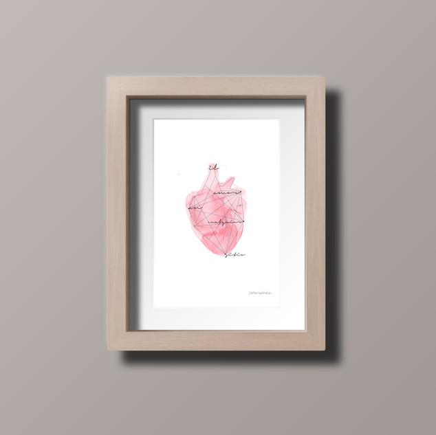 El amor en cualquier sitio - Postal 10x15cm