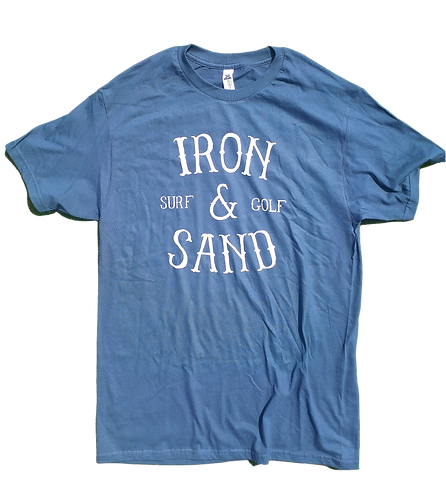 Iron & Sand - Surf and Golf Tee