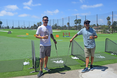 Beer and Balls Iron and Sand