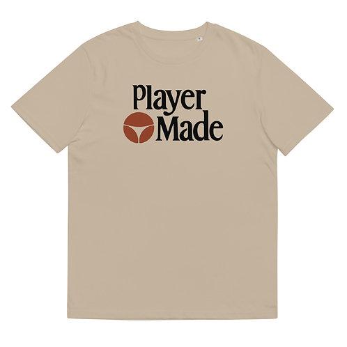 Player Made | Unisex organic cotton t-shirt