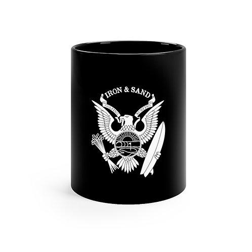 Logo Black mug 11oz
