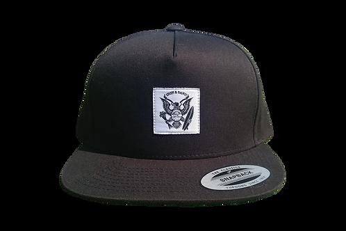 Logo Hat - Black Snapback
