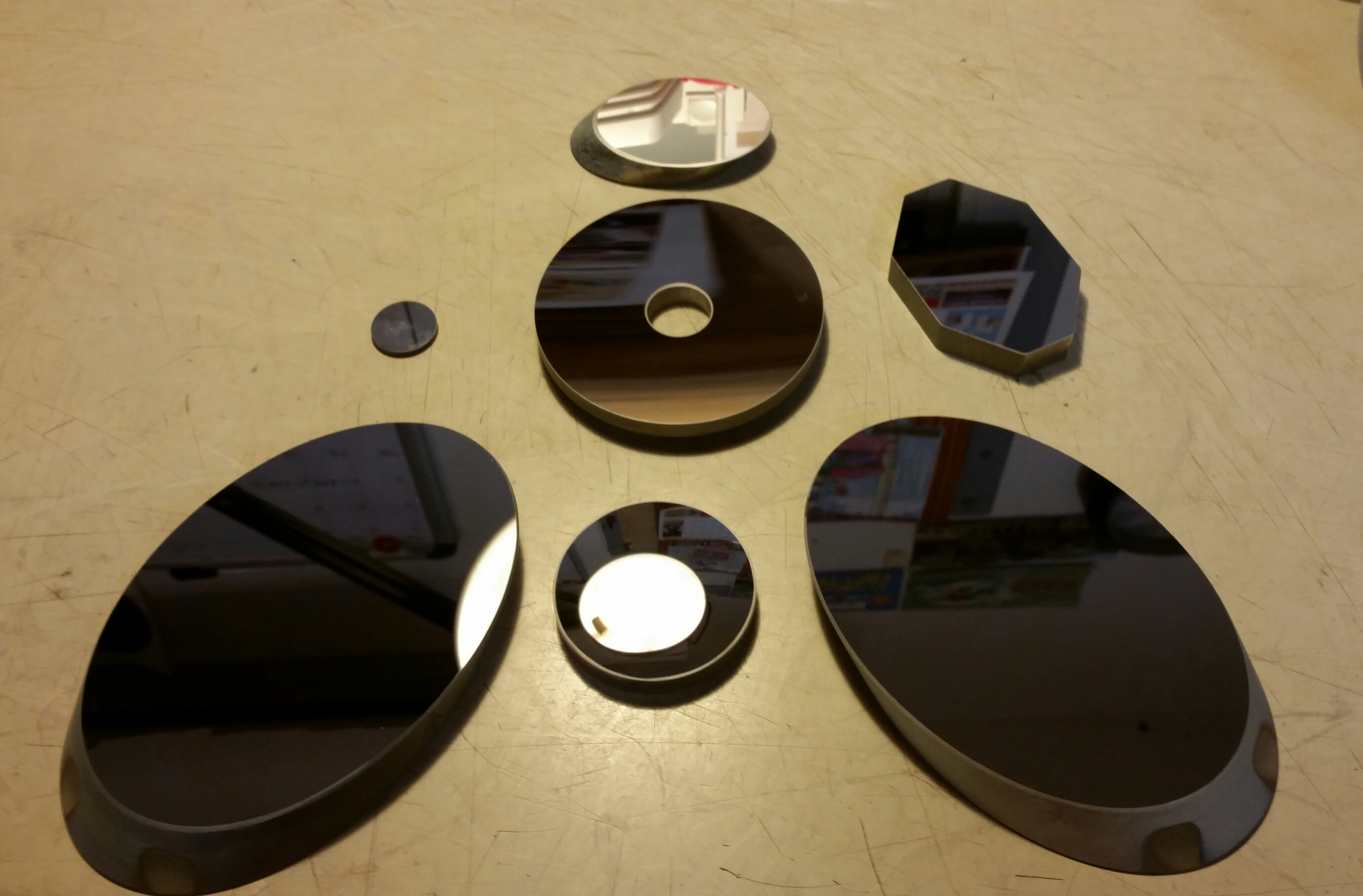 Secondary Mirrors