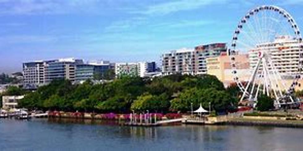 Wheel of Brisbane /Swim at South Bank