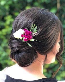 #bridesmaidhair by _sarahcourtneyhairart