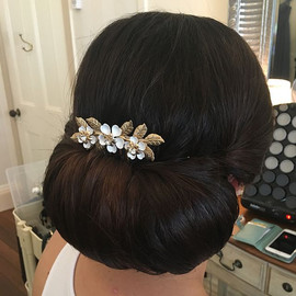 #bridalhair for the beautiful Leigh by _