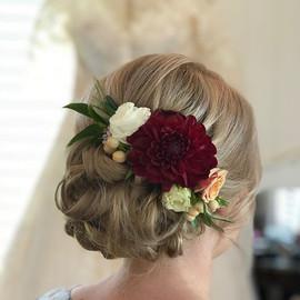 #bridalhair by _sarahcourtneyhairartist