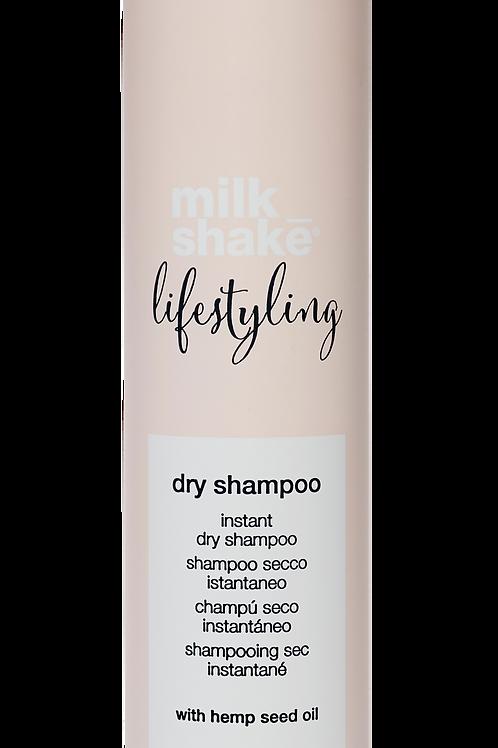 Lifestyling dry shampoo