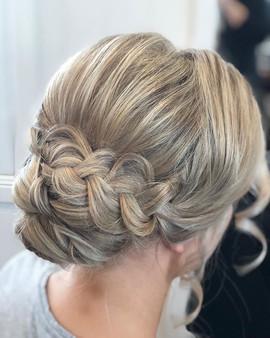 #bridesmaidhair at _prestonpeakfunctions