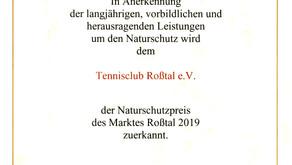 Naturschutzpreis des Marktes Roßtal 2019