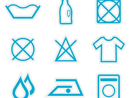 Signification des symboles de votre linge