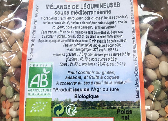 MELANGE DE LEGUMINEUSE BIO - 500g