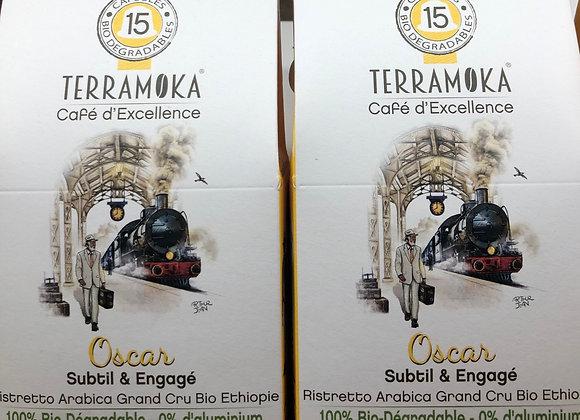 15 CAPSULES CAFE BIO - Oscar - 84g - TERRAMOKA