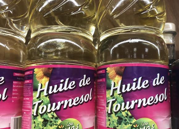 HUILE DE TOURNESOL - 1l - LOU MAS