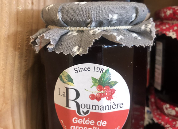 GELEE DE GROSEILLES - 335G - LA ROUMANIERE