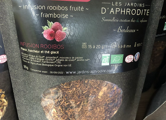 INFUSION ROOIBOS FRUITÉE - FRAMBOISE  - DIONYSOS - 90G