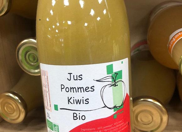 JUS POMMES KIWIS BIO 1L FRUIFORM