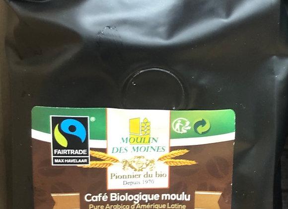 CAFE BIO MOULU - 250G - MOULIN DES MOINES