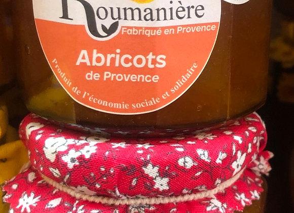 CONFITURE ABRICOTS DE PROVENCE - 335G - LA ROUMANIERE