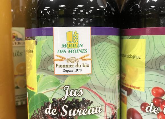 JUS DE SUREAU BIO - 500ml - Moulin des Moines