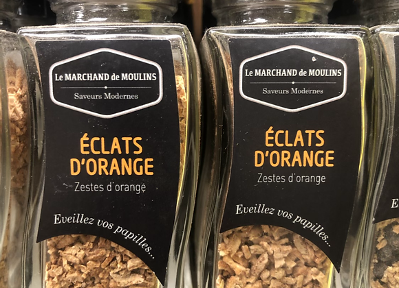 ZESTE ECLATS D'ORANGE - 28G - SAVEUR MODERNE
