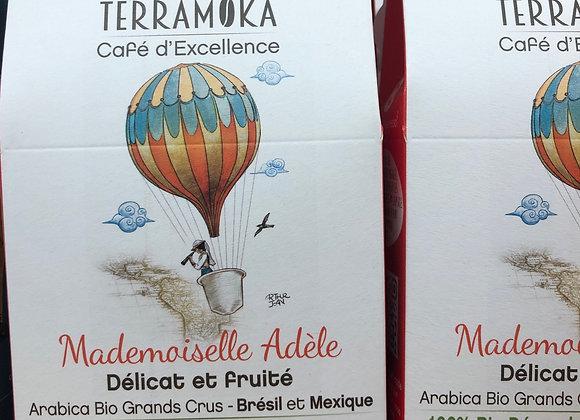 15 CAPSULES CAFE BIO - Melle ADELE - 84g - TERRAMOKA