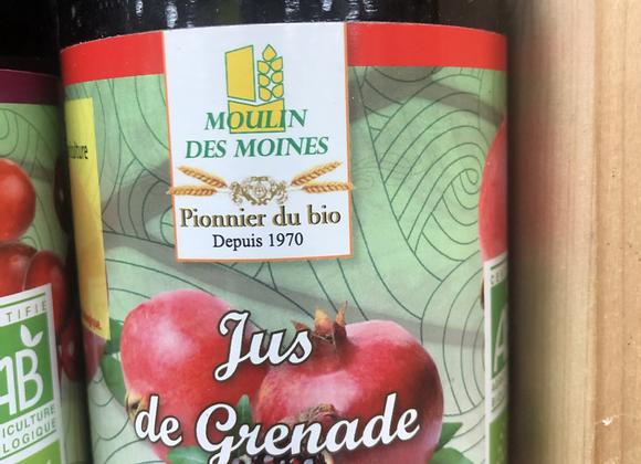 JUS DE GRENADE BIO - 500ml - Moulin des Moines