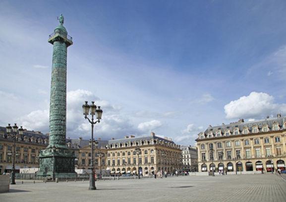 paris - 1er arrondissement (place vendôm