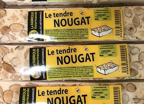 NOUGAT amande pistache noisette - 80G