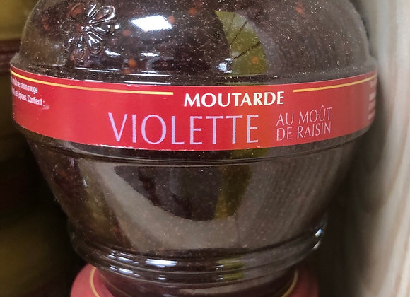 MOUTARDE VIOLETTE - 200G - TERRE ROUGE