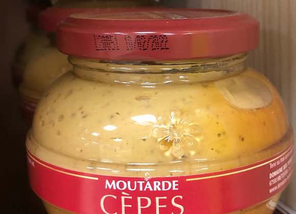 MOUTARDE AUX CEPES - 200G - TERRE ROUGE