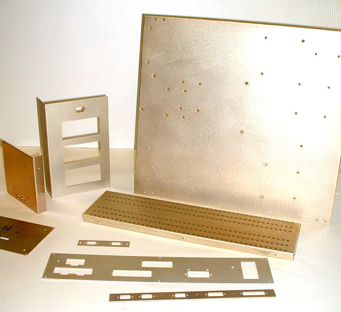 Aluchrome samples