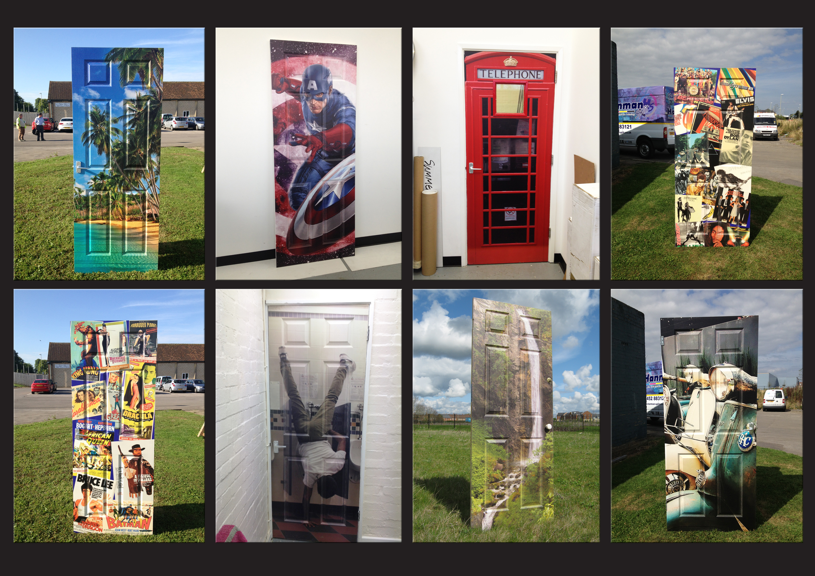 Amazing door prints, make an impact!
