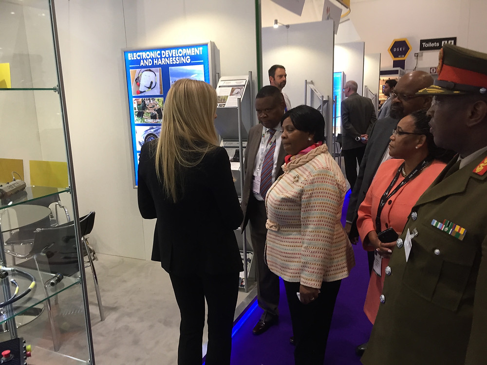 Minister of Defence stand visit