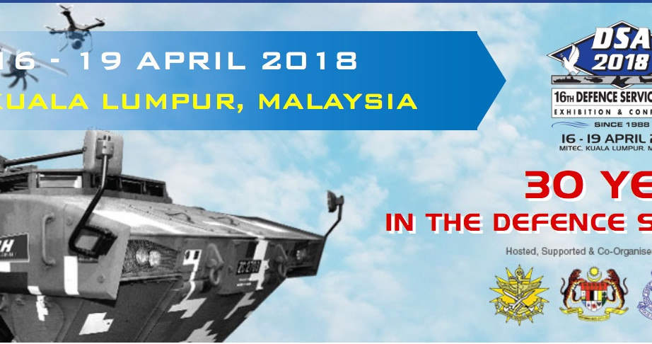 DSA Malaysia Exhibition 16 April 2018