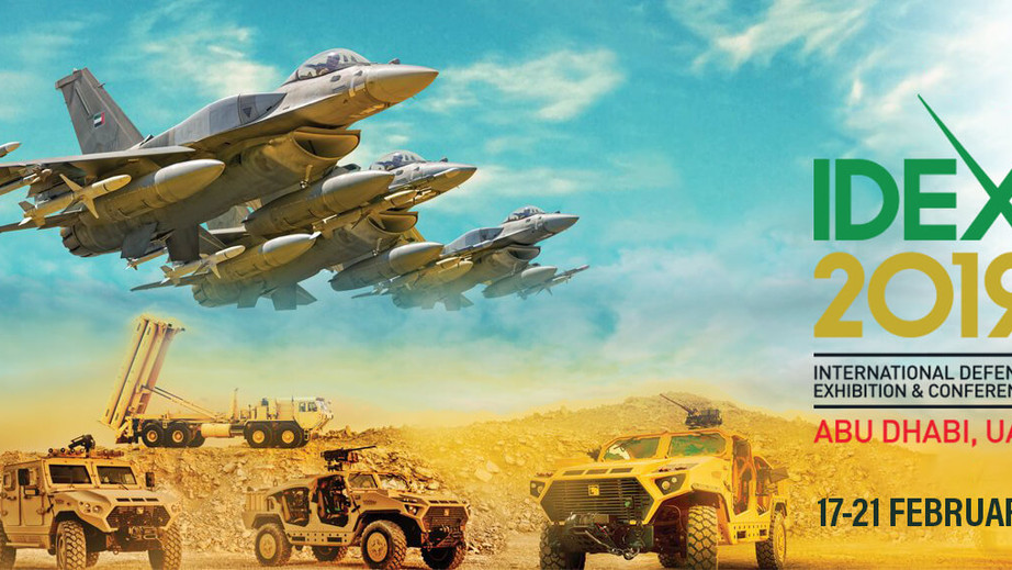 Visit Shrike at IDEX 2019 in Abu Dhabi