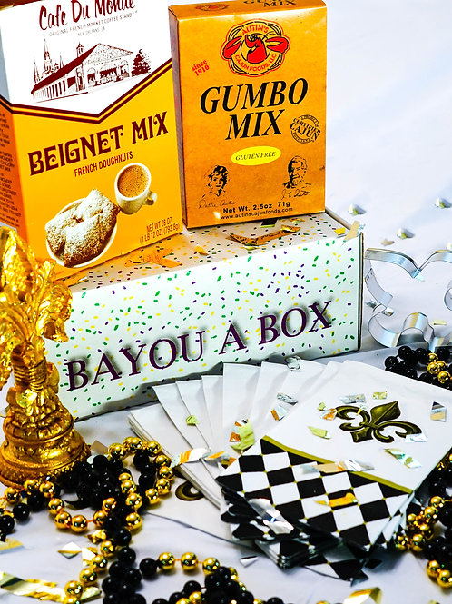 Black and Gold Brunch Box