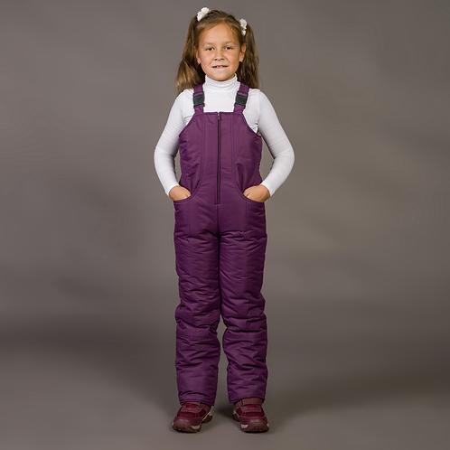 Полукомбинезон зима мембрана фиолет