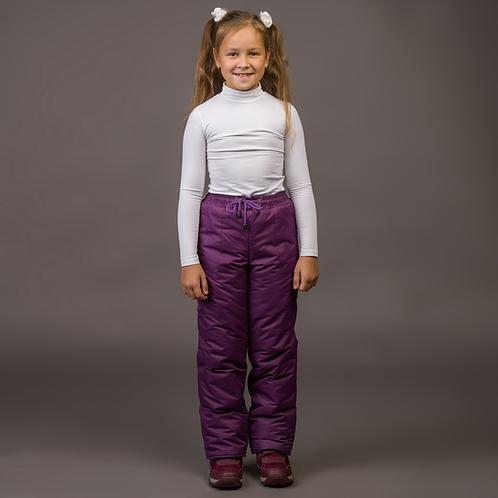 Брюки зимние мембрана фиолет