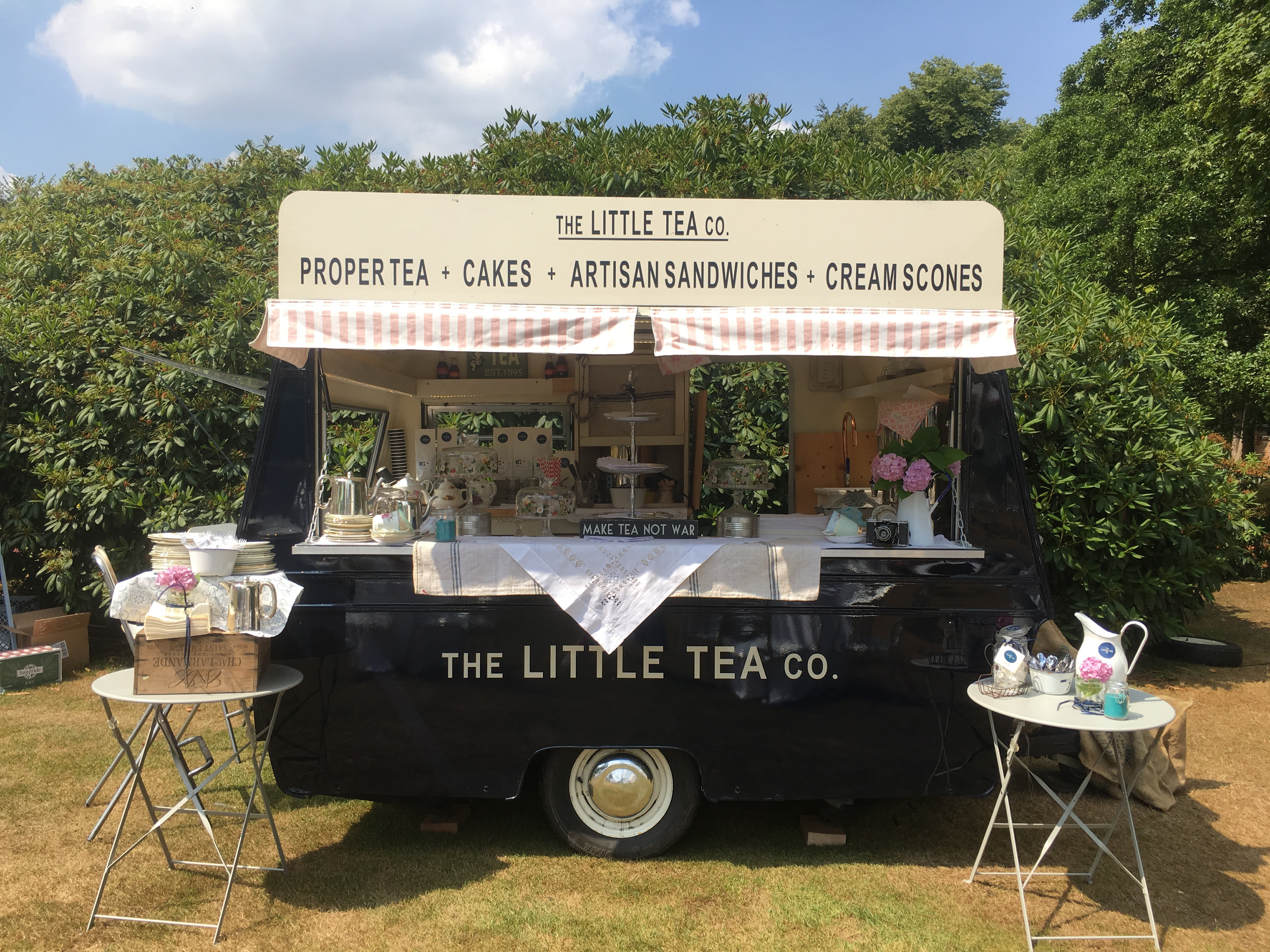 Event Hire of Polly the Little Tea Bar