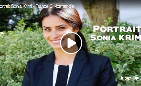 Portrait Sonia Krimi – France 3 Normandie