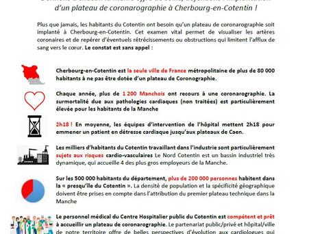 Pour un centre de coronarographie à Cherbourg-en-Cotentin !
