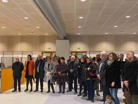 Inauguration du centre de loisirs du Becquet de Tourlaville
