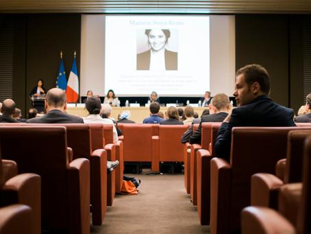 Forum parlementaire sur la sécurité et le renseignement – Paris le 20 juin 2019