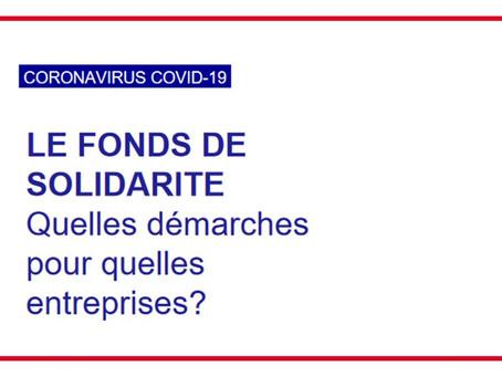 Fonds de solidarité : rappel sur l'évolution des règles d'attribution en juin.